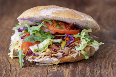 Kebab w bułce - Bosphor
